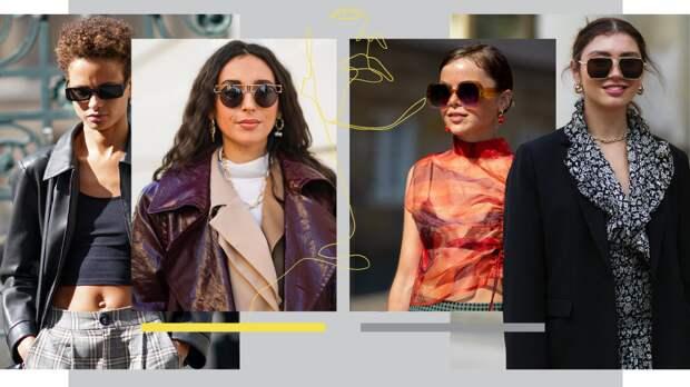 5 трендов солнцезащитных очков на 2021 год, которые можно носить круглый год