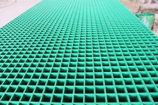 Настил пластиковый решетчатый - особенности, сфера применения