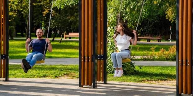 Качели парка Дружбы вошли в гид по необычным площадкам