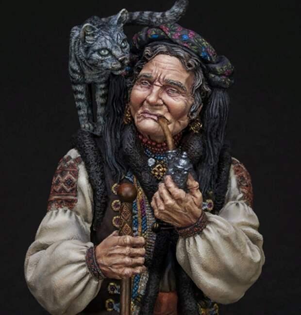 старуха-знахарка