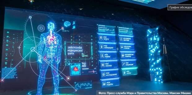 Москва расширяет эксперимент по внедрению технологий искусственного интеллекта в здравоохранении. Фото: М.Мишин, mos.ru