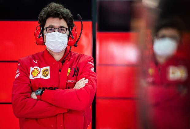 Маттиа Бинотто рассказал о задачах Ferrari на этап в Имоле
