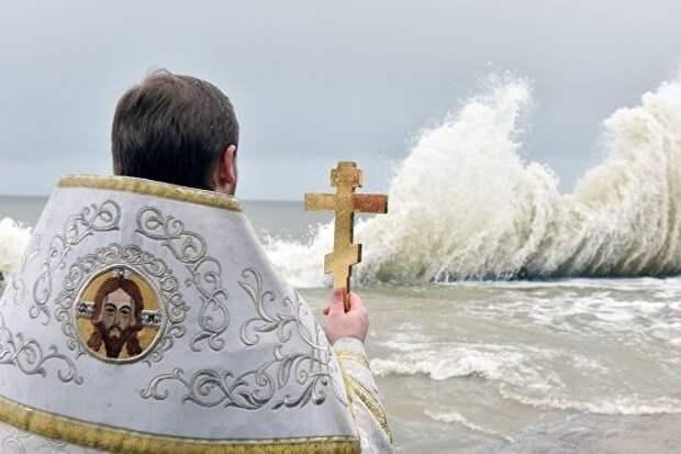 В Сочи назвали шесть мест для крещенских купаний