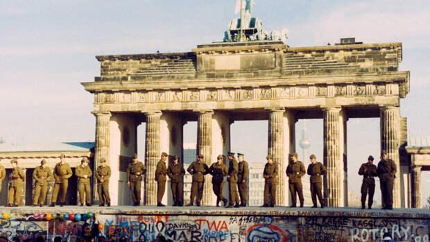 Берлин накануне объединения Германии