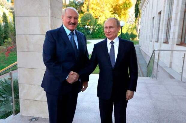 Александр Лукашенко и Владимир Путин. Фото: President of Russia/via Globallookpress.com/www.globallookpress.com