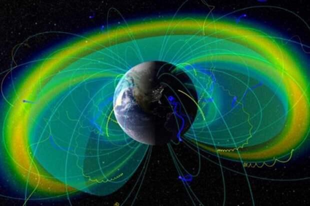 Гигантские плазменные структуры над поверхностью Земли
