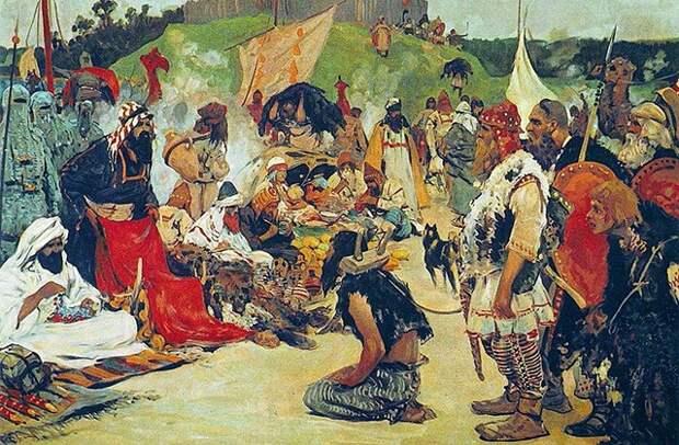 История работорговли в России