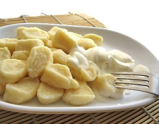 Ленивые творожные (картофельные) вареники