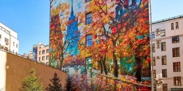 Депутат МГД Мария Киселева: Важно разделять искусство граффити и примитивное варварство / Фото: mos.ru