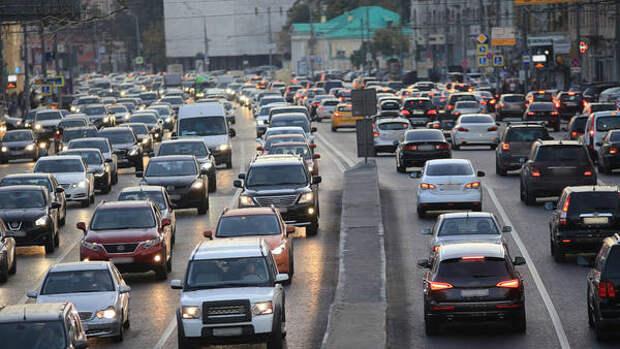 Москву назвали самым пробочным городом 2020 года