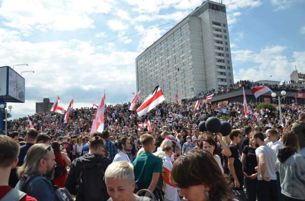 Протесты в Белоруссии: тактика участников меняется