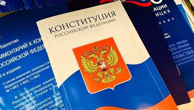 Воробьев: голосование по поправкам в Конституцию будет максимально комфортным