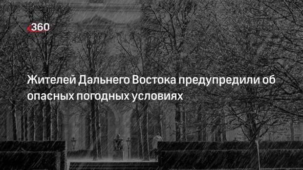 Научный руководитель Гидрометцентра России Вильфанд предупредил об опасной погоде на Дальнем Востоке