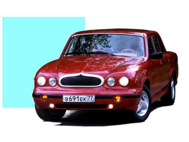 ГАЗ-НАМИ «Волга Престиж» — неудачная попытка сделать «Волгу» похожей на Jaguar X-type
