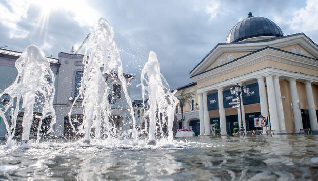 Сезон фонтанов откроется в Подмосковье 30 апреля