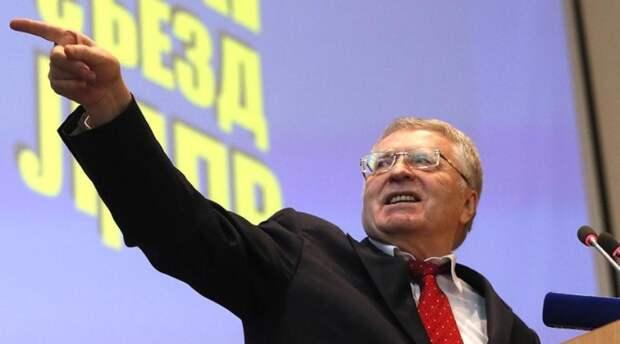 Жириновский пообещал арестовать Чубайса в случае своего избрания президентом