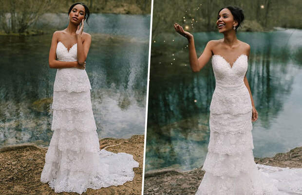 Disney выпустил коллекцию свадебных платьев принцесс