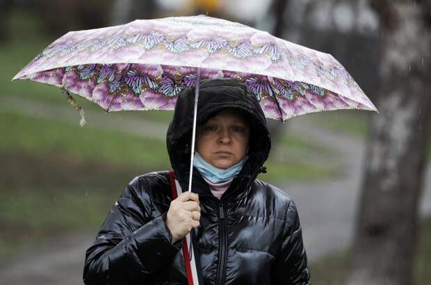 Холодный циклон принёс в Москву рекордные осадки