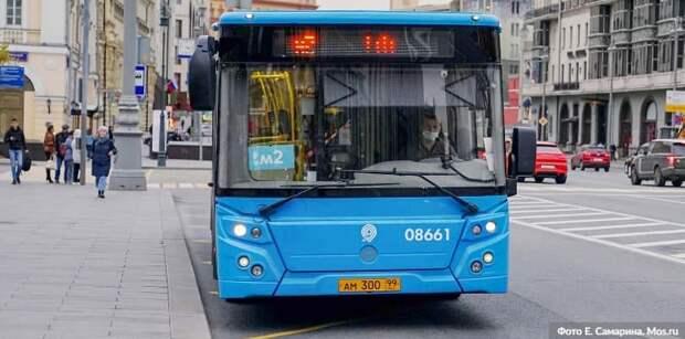 Автобусный маршрут №904, следующий через Щукино, поменяет нумерацию