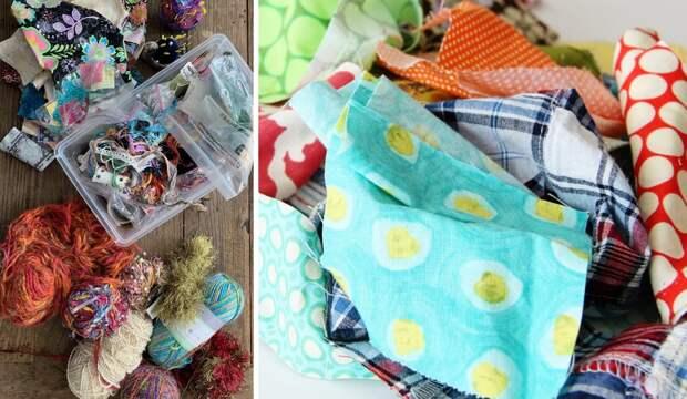 Куда деть обрезки ткани: креативные идеи для дома