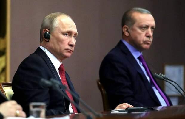 Западная пресса: У Путина есть три способа перетянуть Эрдогана на свою сторону