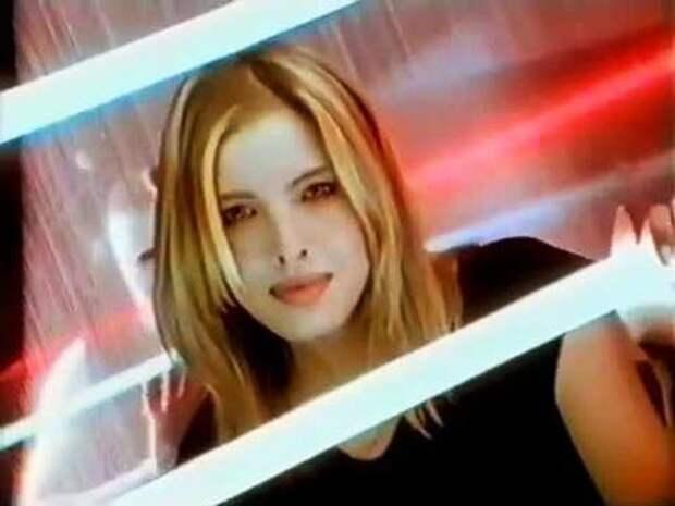 Лена Савина (Белоусова). Кадр из видео