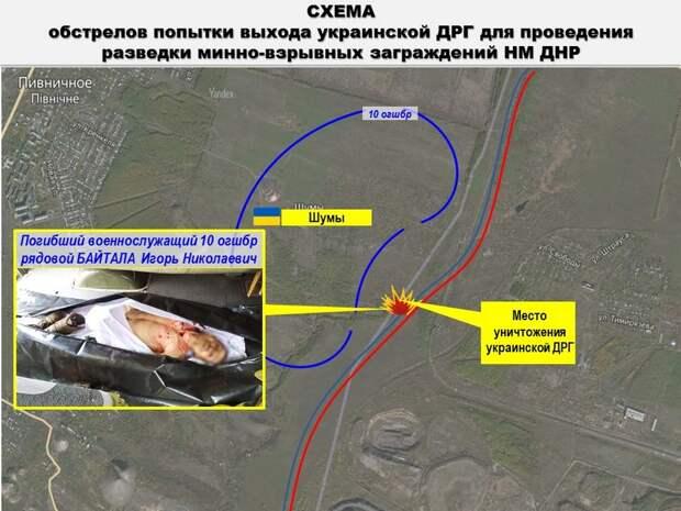 Защитники Донбасса накрыли группу боевиков ВСУ, живыми ушли не все