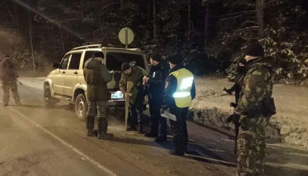В рамках «охотничьего» рейда за выходные в Удмуртии проверили более 300 автомобилей