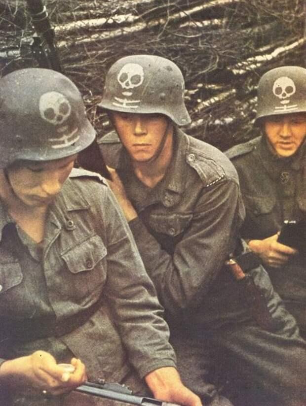 Финские солдаты на Восточном фронте