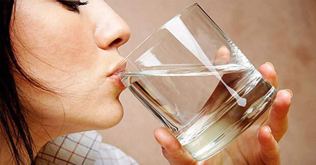 Сколько воды надо пить?