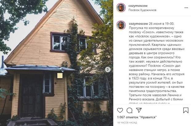 Фото дня: уникальные дома поселка Художников