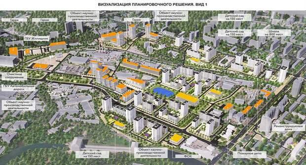 Общественное обсуждение планировки квартала по реновации началось в Южном Тушине