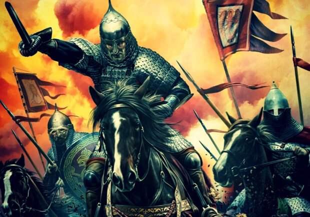 Войско Дмитрия Донского было конным.