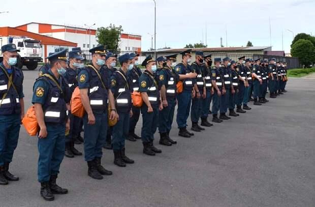 На помощь Крыму направили аэромобильную группировку Донского спасательного центра МЧС