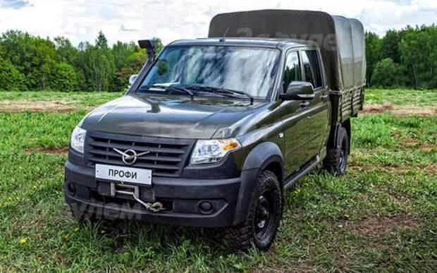Новый УАЗ Профи показали на закрытой выставке для силовиков