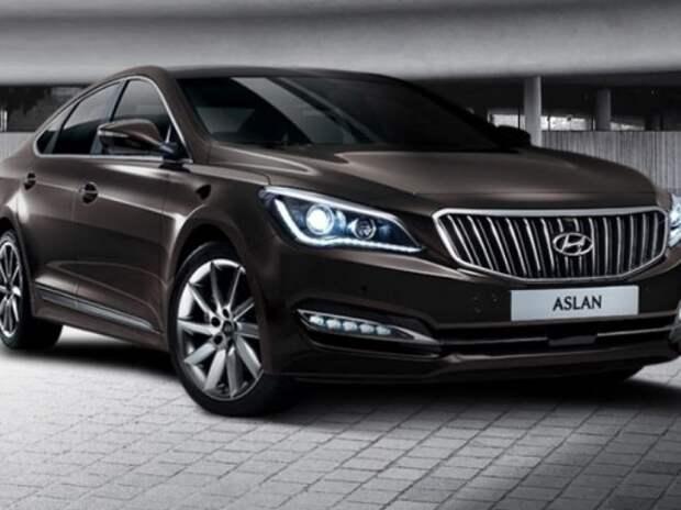 Hyundai показала новый премиум-седан Aslan