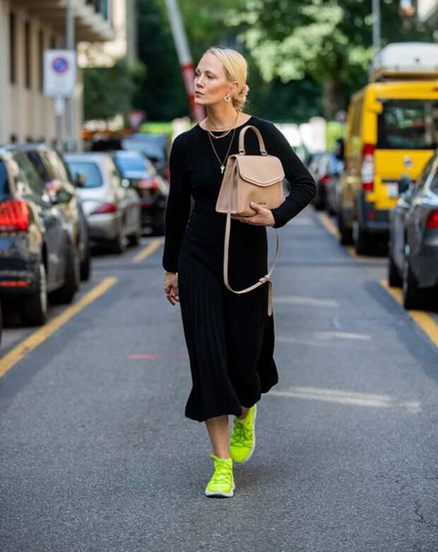 Простое черное платье. Как и с чем носить, чтобы выглядеть стильно. Примеры сочетаний