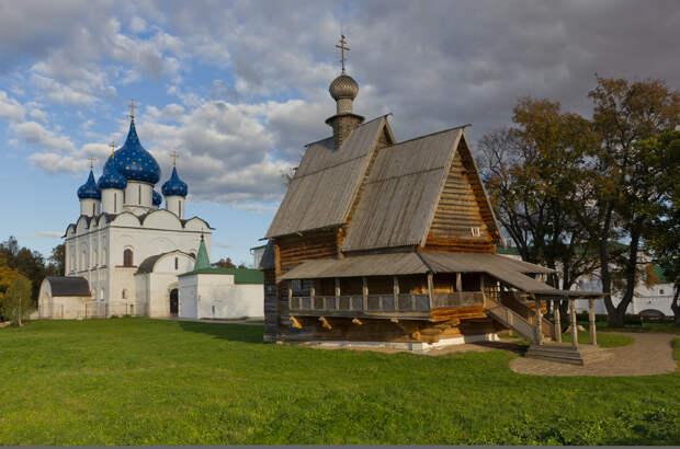 Суздаль был крупнейшим центром Ростово-Суздальского княжества