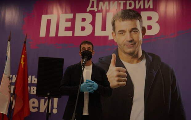 Дмитрий Певцов идет самовыдвиженцем в Государственную думу