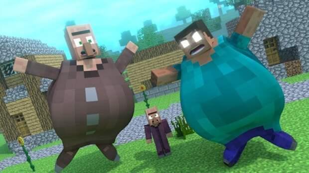 Как мы с Аркадием Петровичем Пони Ленд в Minecraft строили