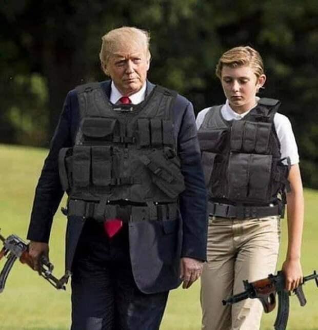 Keep America Great? Добро пожаловать в 2021-й.