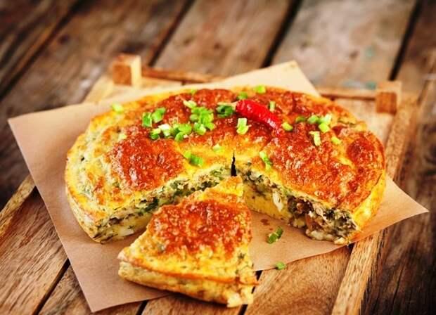 Быстрый пирог с рыбными консервами рецепт с фото пошагово