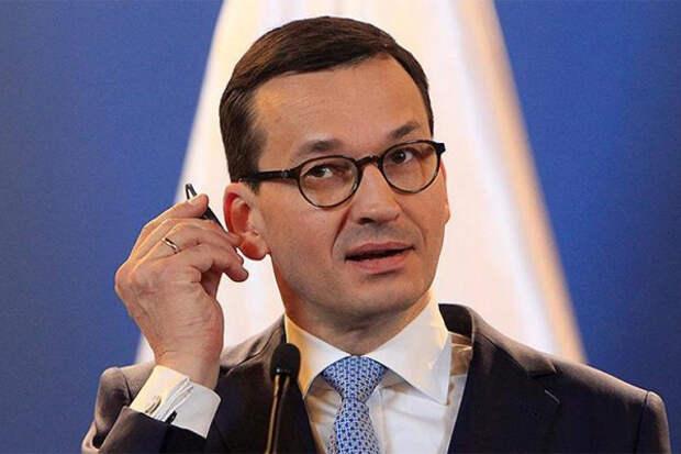 Польша премьер Моравецкий