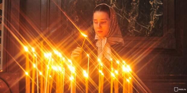 В храм на Абрамцевской можно дистанционно подать записки о здравии и  поминовении