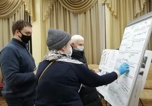 Будущее благоустройство в Отрадном и Лосинке обсудили в режиме «соучаствующего проектирования»