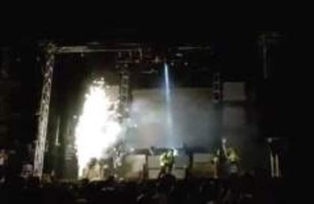 В Испании артистка погибла в результате взрыва на сцене