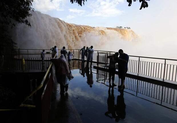 Iguazu 9 Захватывающие дух водопады Игуасу