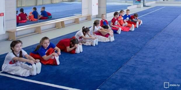 В спортивно-досуговом центре на Песчаной открылась бесплатная секция каратэ
