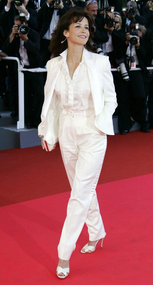 Софи Марсо: одеться как француженка.