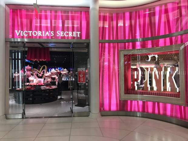 В сети магазинов Victoria's Secret не ловят воров